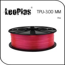 Worldwide Fast Delivery Manufacturer 3D Printer Material 1kg 2.2lb Soft 3mm Flexible P TPU Filament