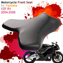 For Yamaha YZF-R1 2004 2005 2006 Front Seat Cover Cushion Leather Pillow YZF R1 04 05 06 Motorcycle Rider Driver Seat цены