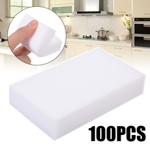 100pcs Nano Sponge Cleaner Multi-functional White Magic Cleaning Foam 100*60*15mm Home Clean Accessory