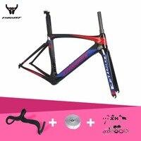 T1000 pintura personalizada Barato bicicleta de estrada de carbono quadro de carbono da bicicleta da estrada da bicicleta peças