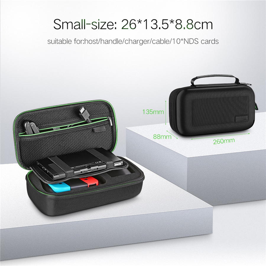 Portable Carrying Bag For Nintendo Switch and Game Accessories Case Bag Shockproof Storage Pouch for Nintendo Switch