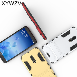 Image 4 - Para funda de teléfono Meizu 15 Plus funda de silicona a prueba de golpes Robot de goma para Meizu 15 Plus funda para Meizu15 además de Coque