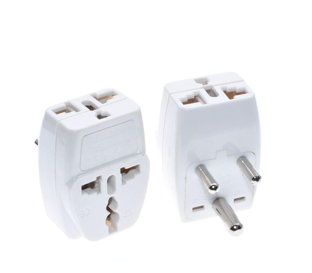 AC110-250V 10A Female IEC320 C15 Power Socket Adapter Connector 3-Terminal 2 Pcs