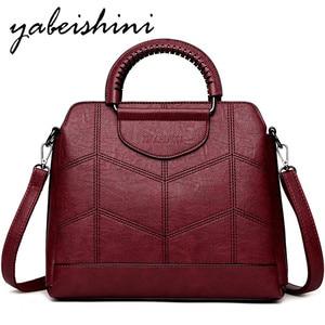 Image 1 - High capacity handbag For Women Luxury Brand Handbags Designer women bag over shoulder Crossbody Bags Sac a Main Ladies tote New