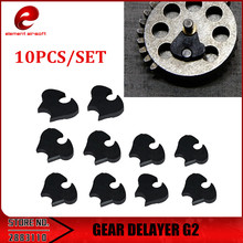 element gear Element 10pcs/lot DELAYER G2 for Airsoft AEG Gearbox Black IN0914
