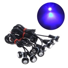 10 Pcs High Power 9W Car LED 12V Eagle Eye 18mm Car Motor Fog DRL Backup Light MAY-8(China)