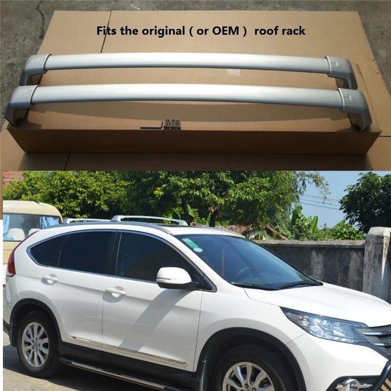Aluminium For Honda Crv Cr V 2012 2013 2014 2015 2016 Roof Rack Roof Rail Baggage Luggage Cross Bar Crossbar Cross Bar Roof Rack Aluminumluggage Rack Bars Aliexpress