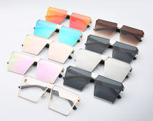 Women's Stylish Colorful Sunglasses with Square Lenses