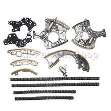 Cadena de $ number piezas de dirección kit para Audi 2, 4l 3, 2l FSI V6 BDW AUK BKH BPK 06E109218H 06E109217H 06E109229A 079109229L 06E109229F