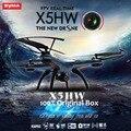 Syma x5hw wifi fpv quadcopter drone con cámara con 2.4g 6-axis fpv drone vs x5c x5sw x6sw x8w jjrc h8d rc helicóptero navidad