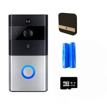 IP Video Intercom WI-FI Video Door Phone Door Bell WIFI Doorbell Camera For Apartments IR Alarm Wireless Security Camera M1 12