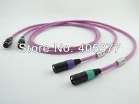 1.5M viborg audio HTP1 Pro hifi audio cable XLR Interconnect cable pair