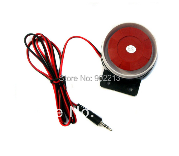 free shipping by DHL 320pcs/CNT DC 9-12V  110 db wired Siren for home security  GSM alarm system