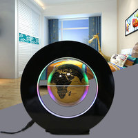 Energy Electric LED 4 Inch Power Magnetic Levitation Earth Lamps UK Plug