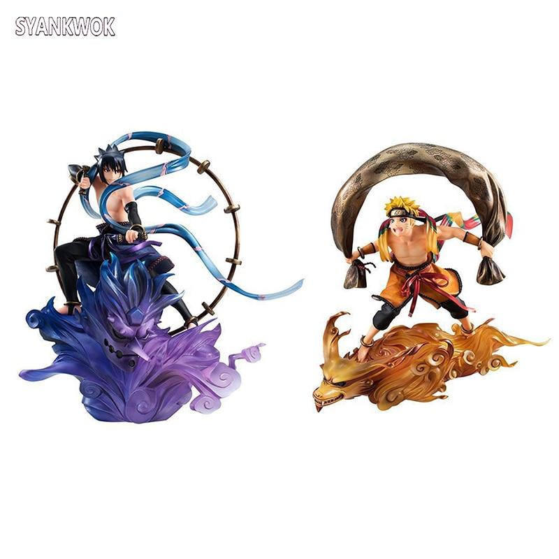 Anime Naruto and Sasuke - Gods of Wind and Thunder Boruto Action Figure Collection Model Toy 18cm gods of nabban