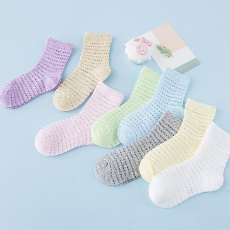 40 Pcs = 20 Pairs Baby Girl Socks Cheap Stuff 2018 Baby Sokken Infant Socks Anti Slip Sock Calcetines Skarpetki Chaussette Girt