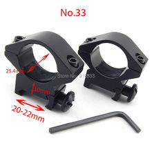 Free Shipping Tactical Rail Mounts 2pcs 20mm Width adjustment 25.4mm Diameter Low Profile Rifle Scope Mount Hunting Accessories цена 2017