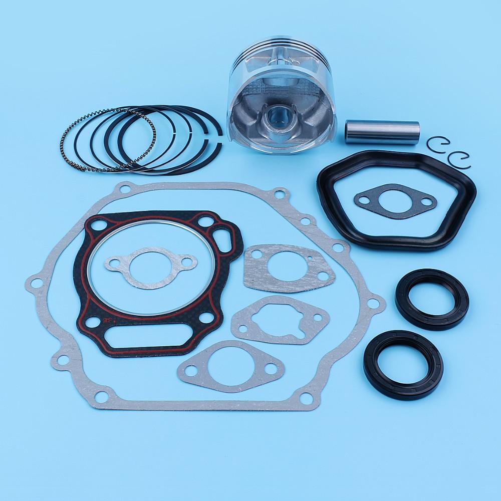Tools : 88mm Piston Ring Pin Gasket Set For Honda GX390 13HP Generator Lawn Mower Engine Motors 13200-ZE3-010