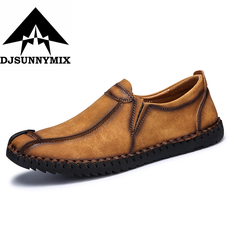 Big Size 39-46 2018 New Fashion Casual Men Shoes Luxury Brand Leather Shoes Casual Male Shoes Handmade Leather Mens Moccasins cbjsho brand men shoes 2017 new genuine leather moccasins comfortable men loafers luxury men s flats men casual shoes