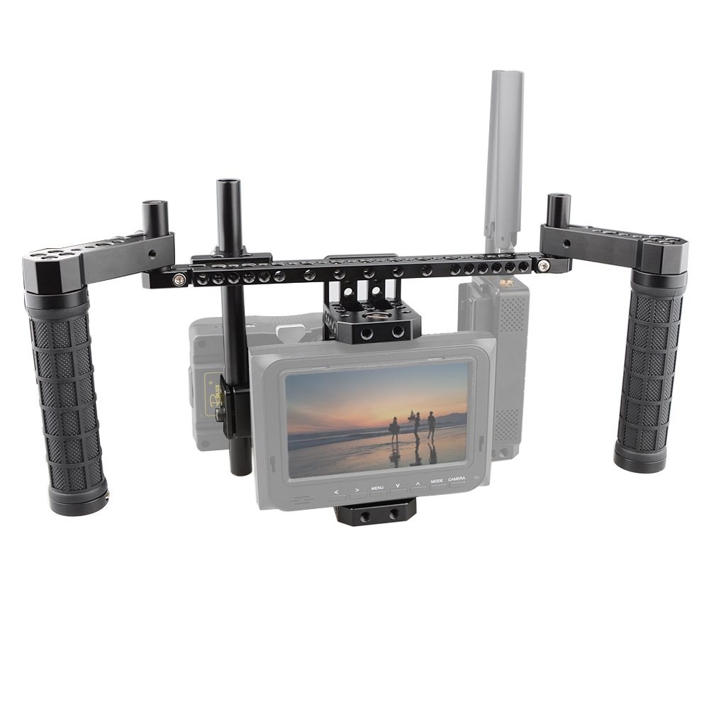CAMVATE Directors Monitor Cage Kit with V-Lock Plate  C1762CAMVATE Directors Monitor Cage Kit with V-Lock Plate  C1762