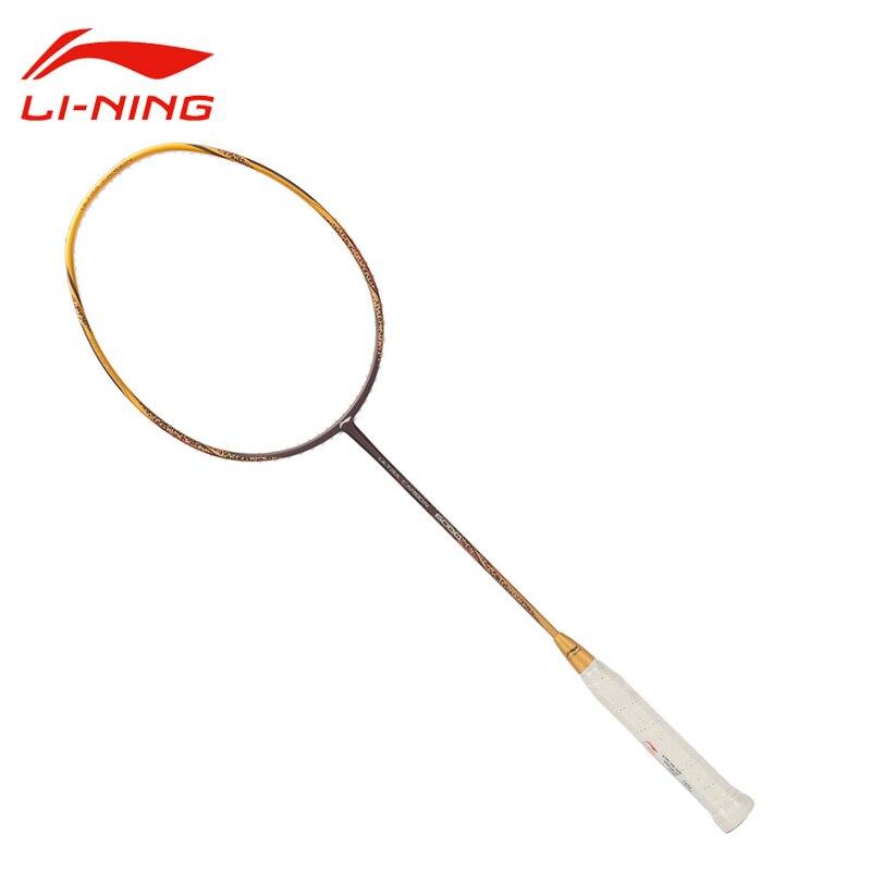 Li Ning Professional Badminton Rackets Surper Light High end Nano Carbon Li Ning font b Racquet