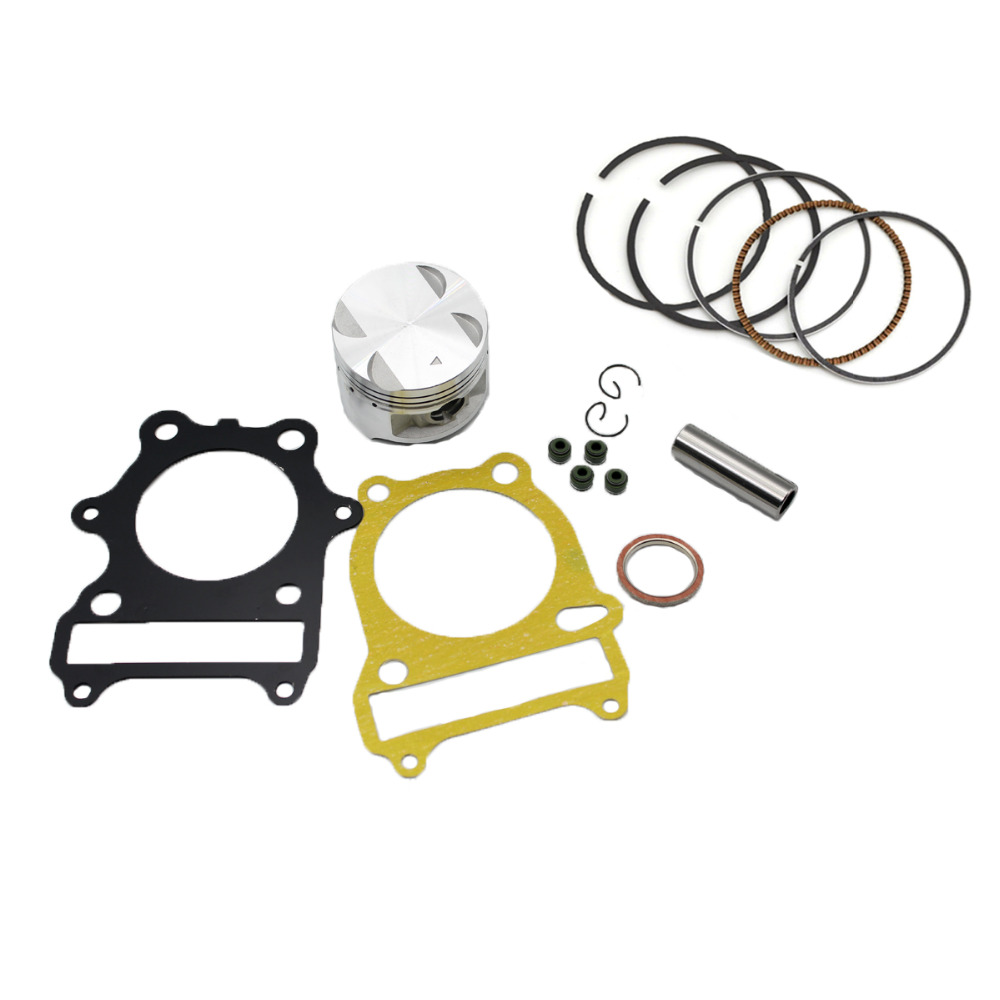 1 Set Motorcycle Parts GN250 Piston Cylinder Kit Gasket For GN250 1985-2001 GZ250 Marauder 1999-2010 TU250 1997-2001