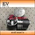 Kubota V1200 Ремонтный комплект для ремонта двигателя поршень + кольцевой комплект + комплект прокладок