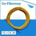 Fibra óptica Patch Cord SC / UPC para SC / UPC simplex, 20 metros, Sm, Pvc cabo
