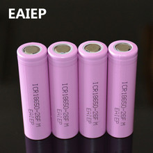 4pcs/lot 3.7V 2600mAh Original 18650 rechargeable li-ion Battery For ICR18650-26F ICR18650 26F 2600 mAH batteries стоимость