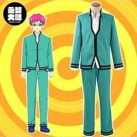 Nouveau anime Saiki Kusuo pas Nan Cosplay Costume Adulte homme Saiki Kusuo manteau pantalon chemise un ensemble cosplay cheveux anime perruque