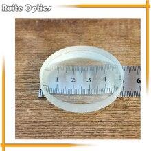 10pcs 50mm Diameter Optical Glass Focal Length Optics Double Concave Lens Focus -90m for Physical Optics Experiment