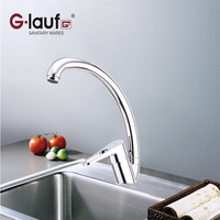 Glauf Russia NUD4 A045 Kitchen Faucet Ceramic Plate Spool Single Handle Hot Cold Water Deck Mounted