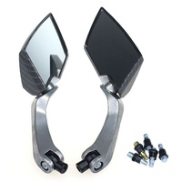 2017 Top Sale New Universal Diamond Motorcycle Motor Rearview Rear View Side Mirror Uses For 8mm