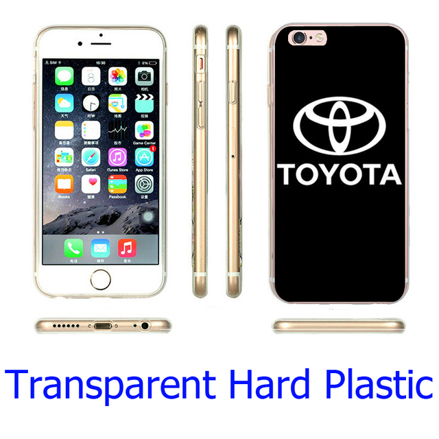 Toyota Logo Clear Phone Case for iPhone