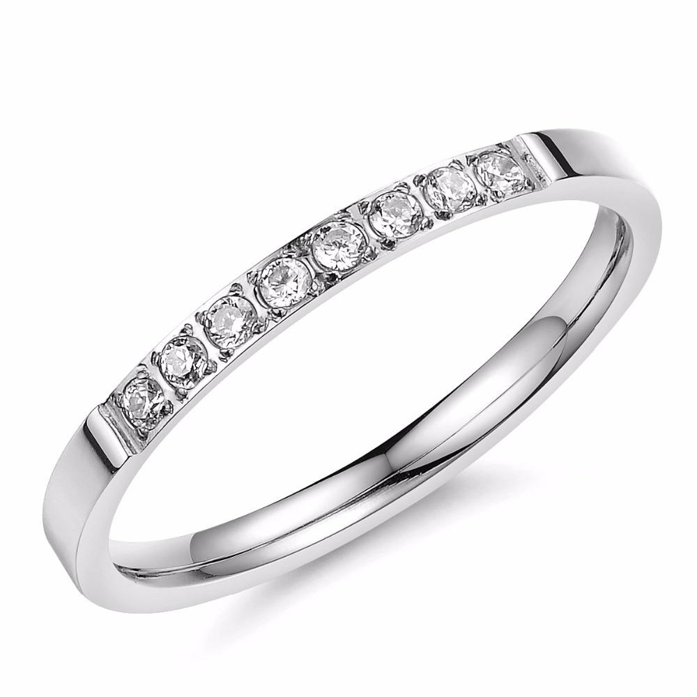 Lovingfeelings Simple Wedding Rings