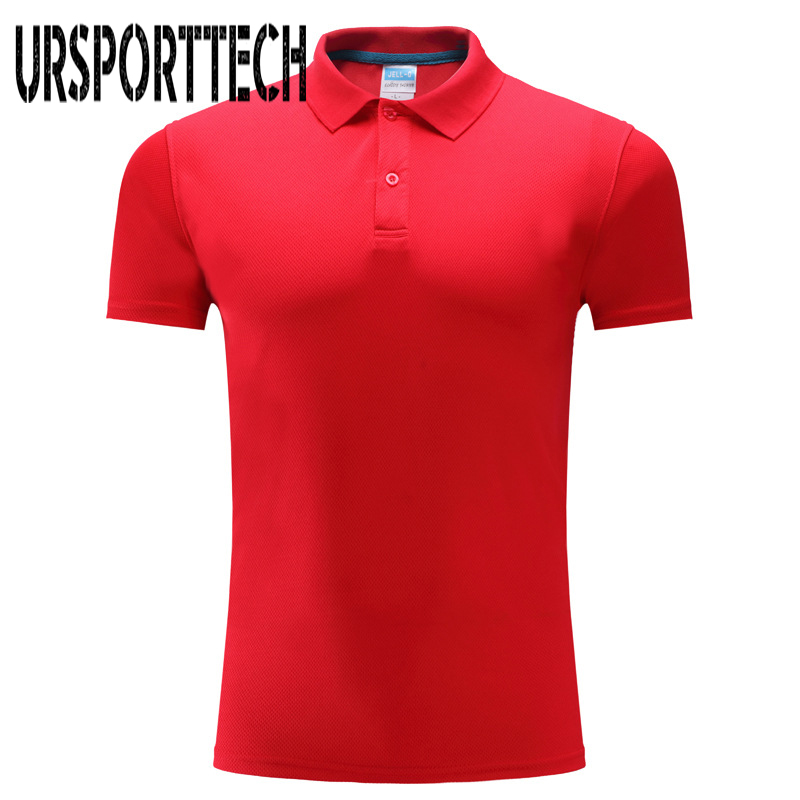 Breathable Brand New 2019 Polo Shirts Men Quick Dry Short Sleeves Classic Design Solid Color Polo Shirts S-3XL