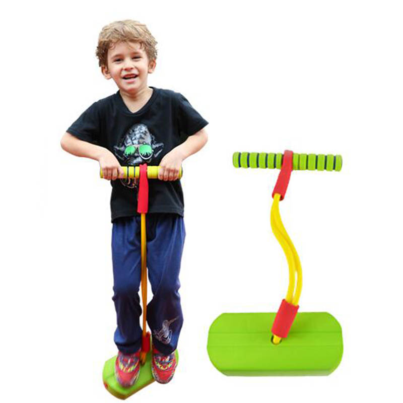 Toy Sports Foam Pogo Jumper Bounce Shoes Jumping Frog Game Sensory Integration Makes Squeaky Sounds Toys For Children