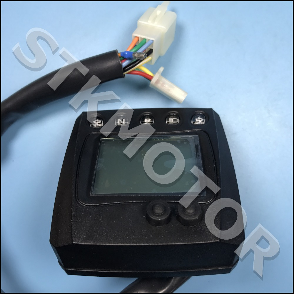 small resolution of digital speedometer with nature and reverse shineray 250 250cc atv quad buggy 250 stxe in