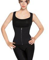 Neoprene Women Body Shaper Vest Compression Slimming Sweat Sauna Shirt Vest For Weight Loss Workout Top