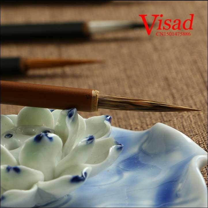 VISAD Chinês caligrafia escova doninha escova de