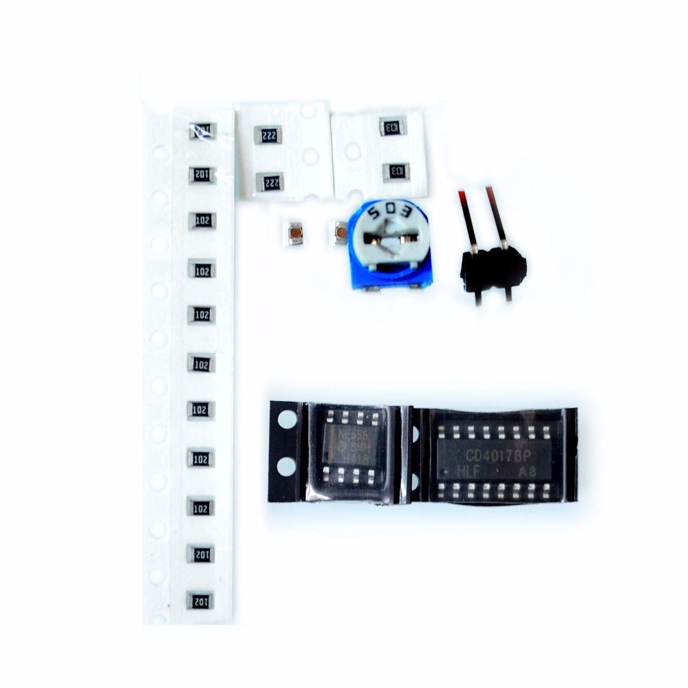 Active Components 100% Quality Diy Kit Heart Shape Breathing Lamp Kit Dc 4v-6v Breathing Led Suite Red White Blue Green Diy Electronic Production For Learning 100% Original