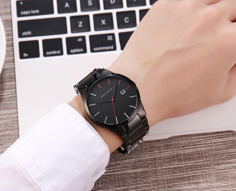 Men Watches 2018 Men's Quartz Wristwatches Male Clock Top Brand Luxury Relogio Masculino Military Steel Wrist Watches For Sports 2018