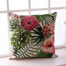 Poszewka na poduszkę Colorful Flower
