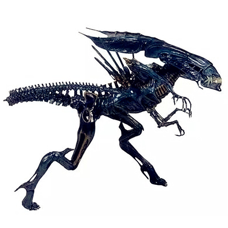Alien vs. Predator Circular Sector Armor Xenomorph Queen Transparent Alien PVC Action Figure Model Toy G864 alien figure 018 alien queen xenomorph 18cm pvc action figures doll toys