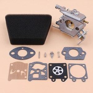 Image 3 - Kit de réparation de carburateur, filtre à Air et joint pour Mcculloch Mac 335 435 440 Partner 350 351, pièces de rechange pour tronçonneuse à gaz Walbro 33 29 Carb