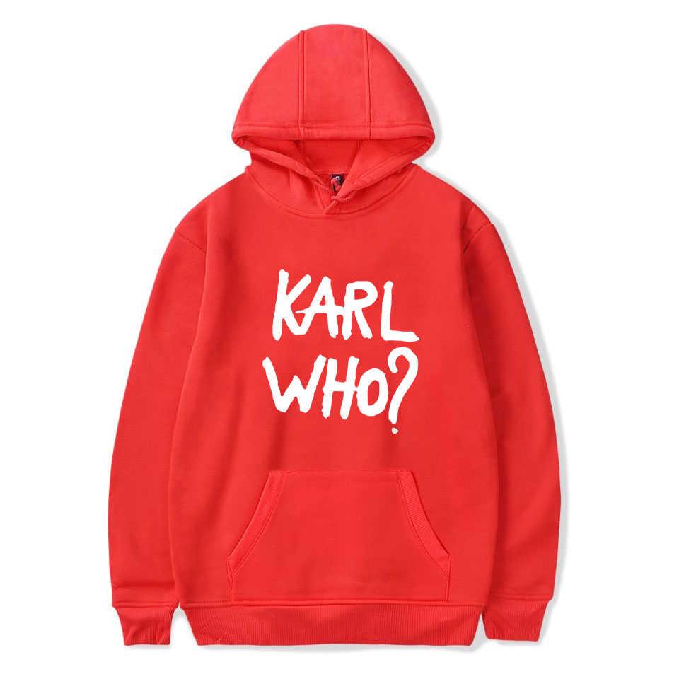 110c49eb4 New Karl Lagerfeld Hoodies Women Fashion Hot Print Hoody men Casual Winter  Sweatshirt Karl Lagerfeld Hoodie