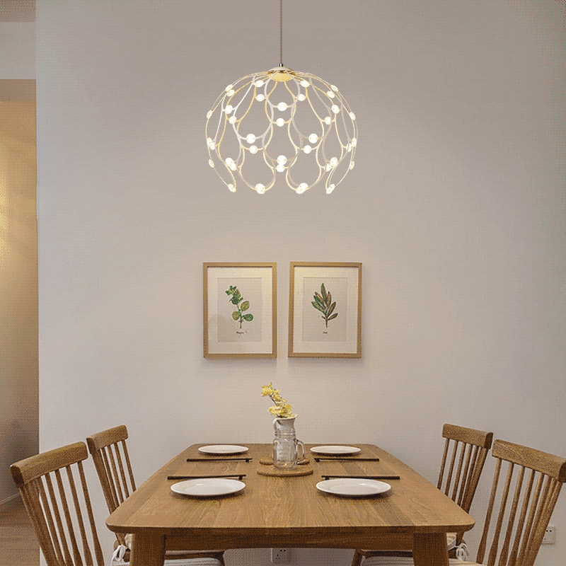 Modern LED chandelier novelty pendant lamp nordic fixtures deco suspension luminaire home lights restaurant hanging lighting