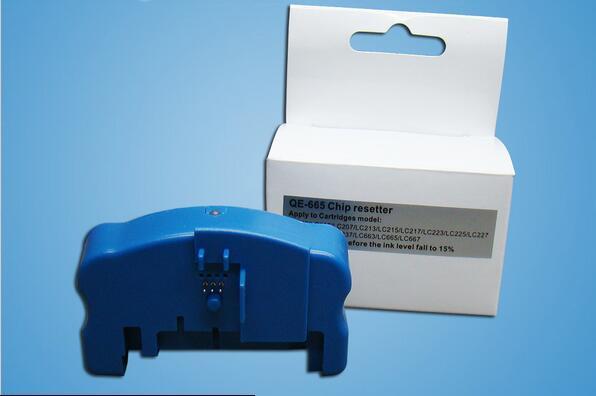 Resetter cartucho resetter chip para O Irmão LC223 LC225 LC227 LC229 QE665 2015 NOVO para DCP-J4120DW MFC-J4420DW J4620DW J4625DW