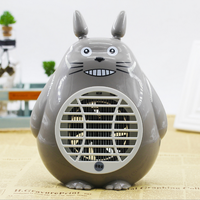 Cartoon Totoro Electronics Mosquito Killer Trap Moth Fly Wasp Led Night Lamp Bug Insect Light Killing Pest Zapper baby bedroom