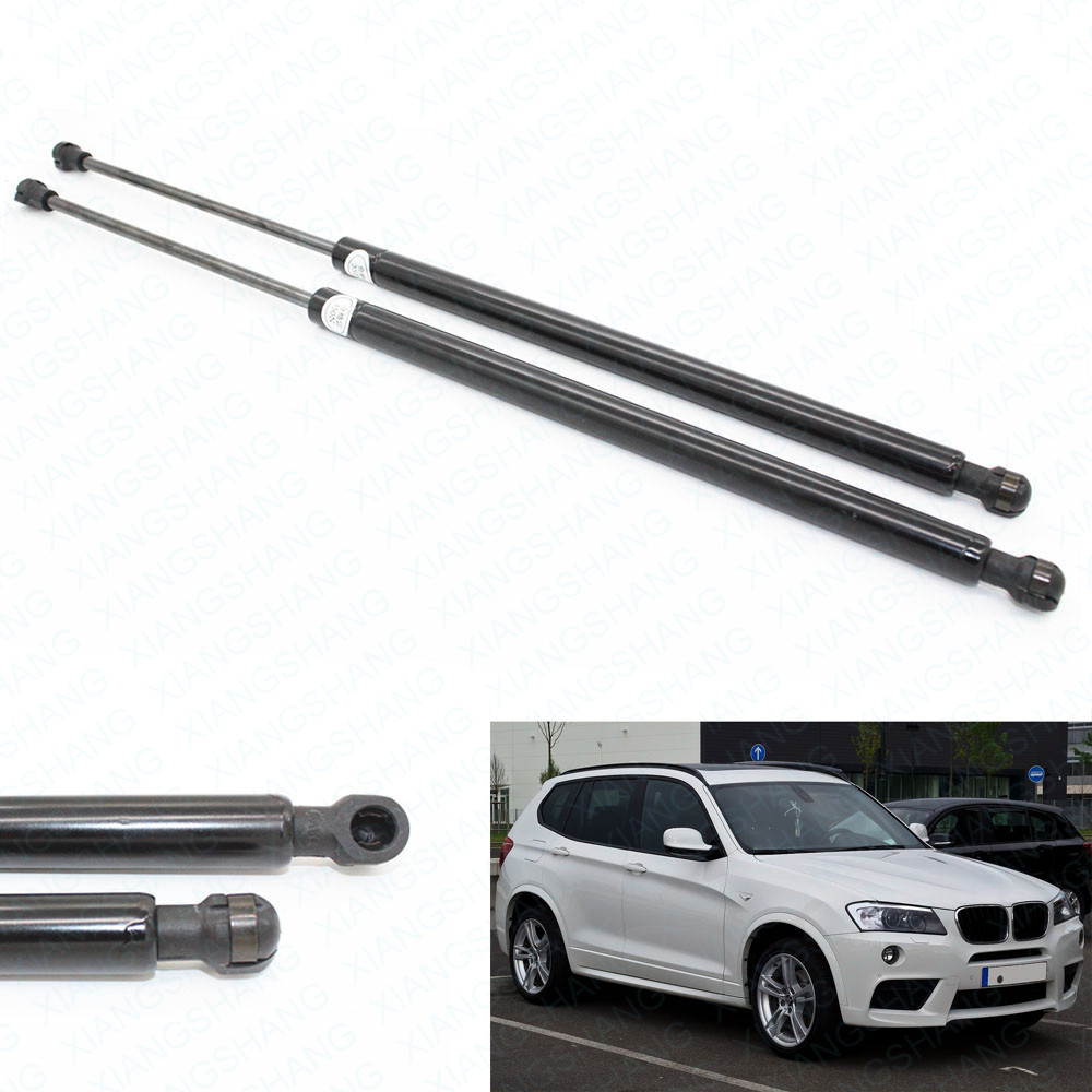 2pcs Rear Trunk Tailgate Liftgate Boot Auto Gas Springs